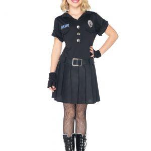 Girls Playtime Police Costume
