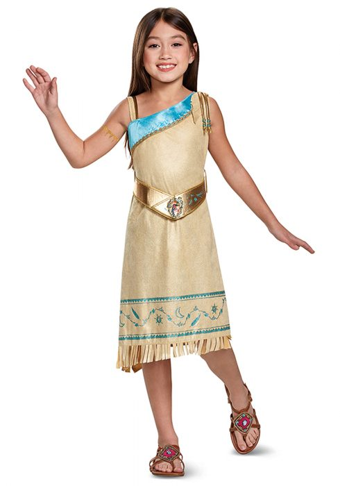 Girls Pocahontas Deluxe Costume