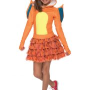 Girls Pokemon Charizard Costume