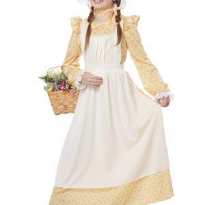 Girls Prairie Girl Costume