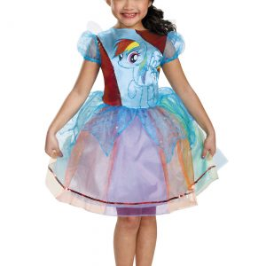 Girls Rainbow Dash Deluxe Costume