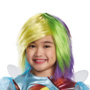 Girls Rainbow Dash Wig