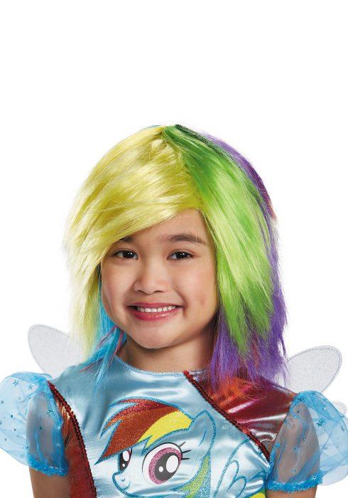 Girls Rainbow Dash Wig