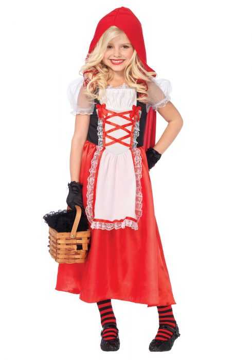 Girls Red Riding Hood Costume