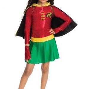 Girls Robin Costume