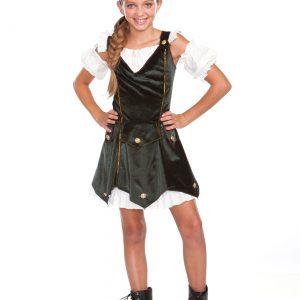 Girl's Rob'n Da Hood Costume