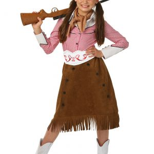 Girls Rodeo Cowgirl Costume
