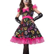 Girls Sugar Skull Sweetie Costume