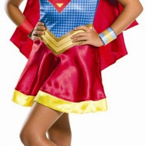 Girls Supergirl Costume