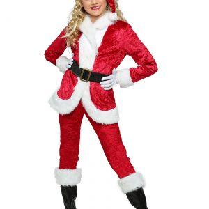 Girl's Sweet Santa Costume