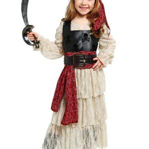 Girls Sweet Swashbuckler Costume