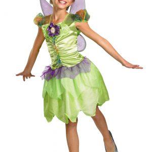 Girls Tinker Bell Rainbow Costume