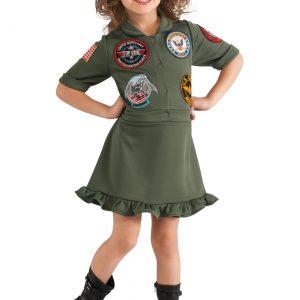Girls Top Gun Flight Dress