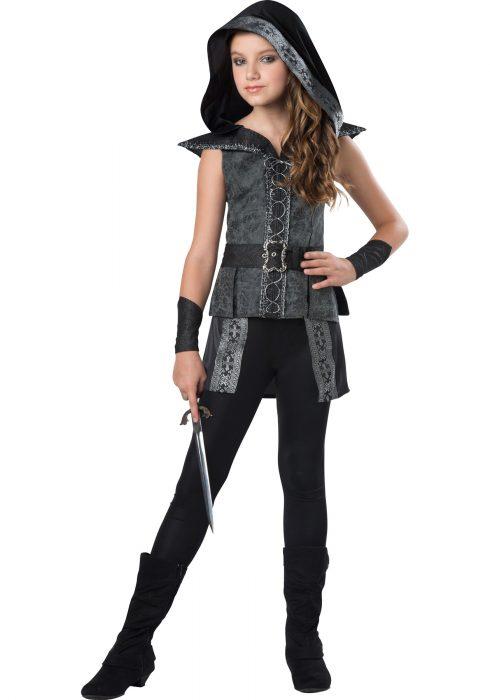Girls Tween Dark Woods Huntress Costume