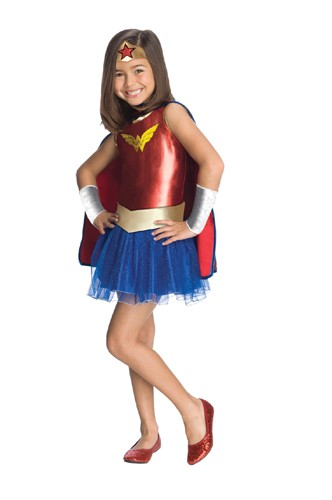 Girls Wonder Woman Tutu Costume
