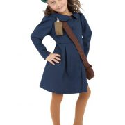 Girls World War II Costume