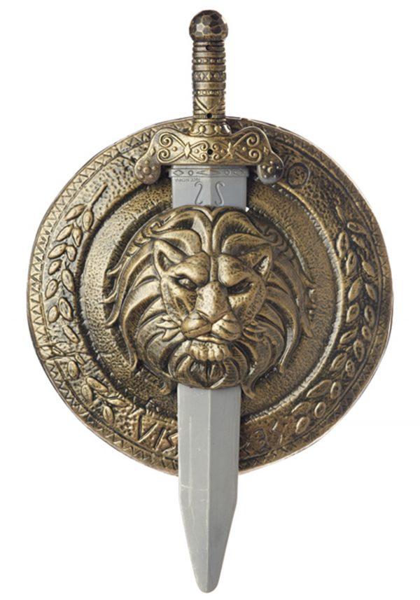Gladiator Combat Shield and Sword