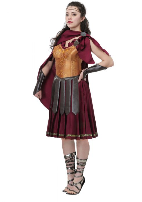 Gladiator Plus Size Women's Costume