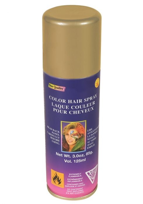 Gold Color Hairspray