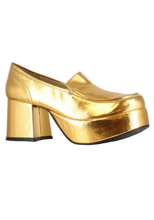Gold Daddio Pimp Shoes