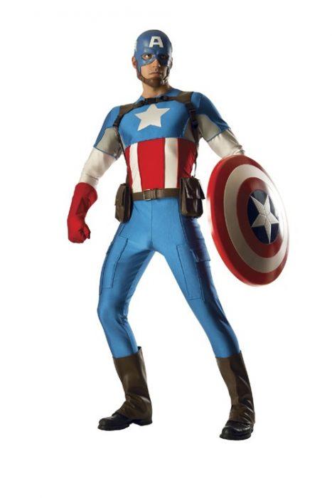 Grand Heritage Adult Captain America Costume