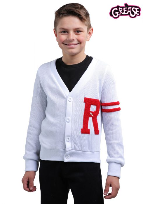 Grease Rydell High Boys Letterman Sweater