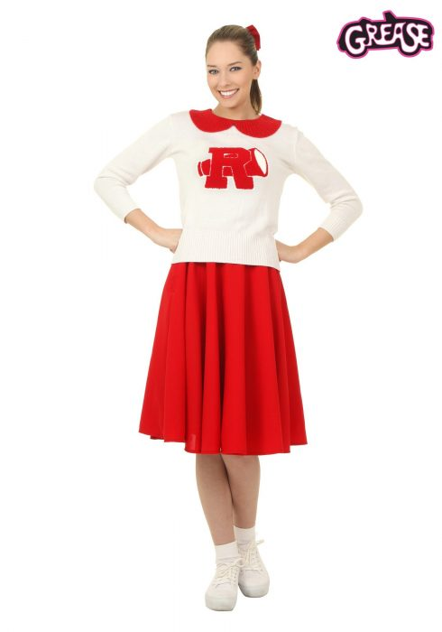 Grease Rydell High Plus Size Women's Cheerleader Costume