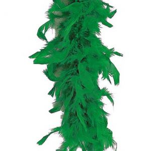Green 80 Gram Feather Boa