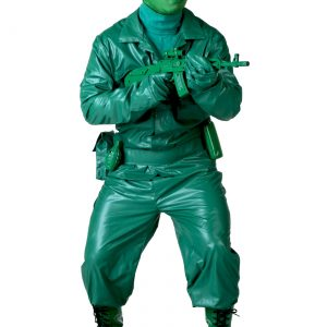 Green Army Man Costume
