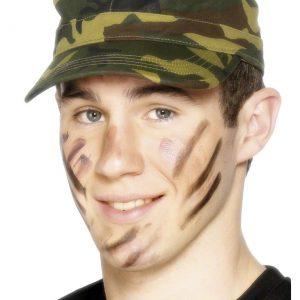 Green Camo Army Cap