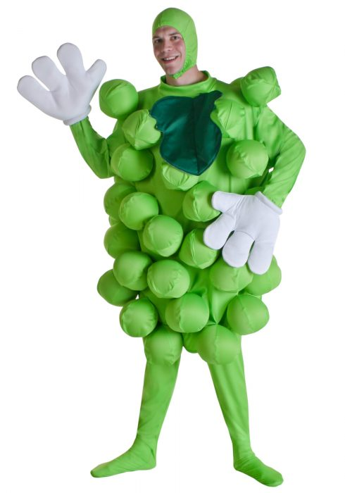 Green Grapes Costume