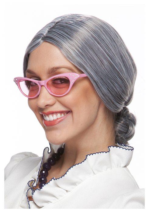 Grey Old Lady Wig