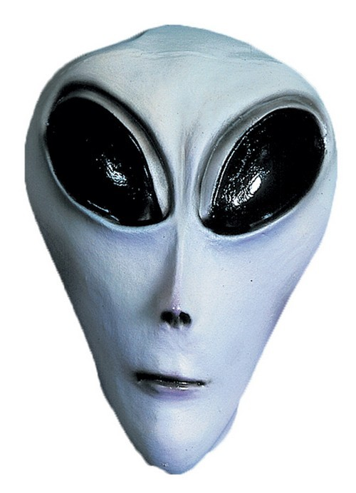 Grey UFO Mask