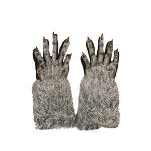 Grey Werewolf Gloves
