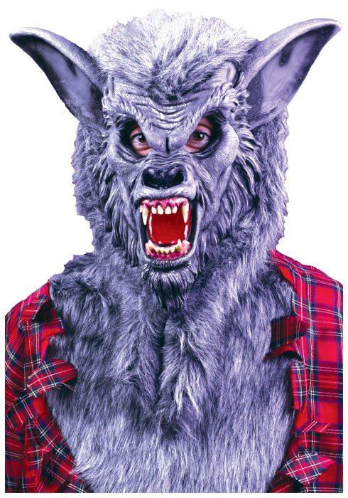Grey Werewolf Mask