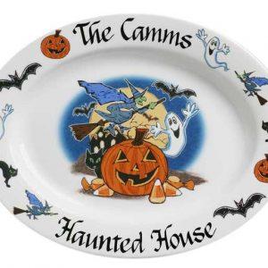 Halloween Personalized Platter