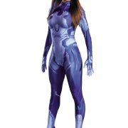 Halo Cortana Women's Bodysuit Costume