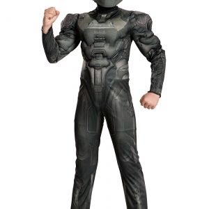 Halo Spartan Buck Classic Boys Muscle Costume