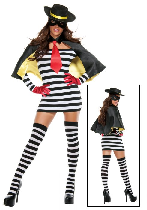 Hamburger Thief  Costume