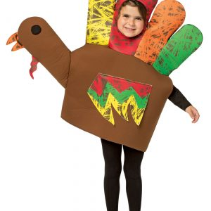 Hand Turkey Kids Costume