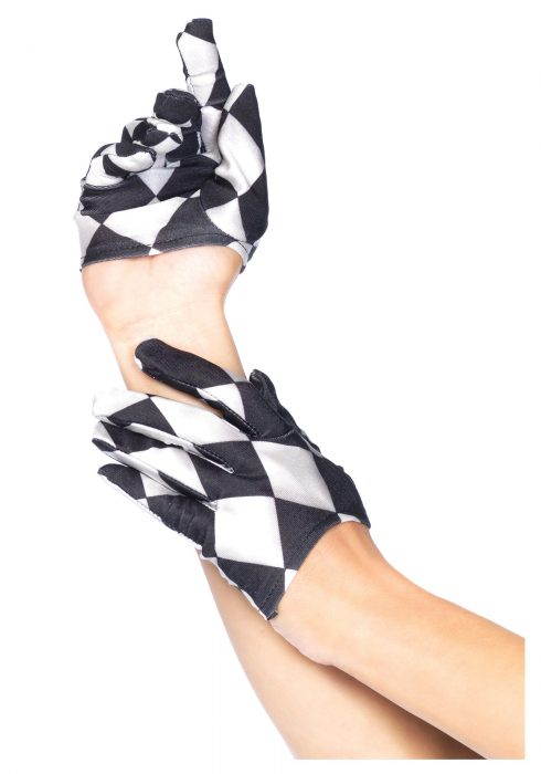 Harlequin Mini Cropped Gloves