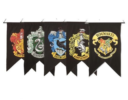 Harry Potter Wall Banner Set - 5 pack