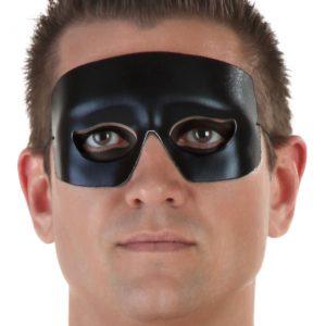 Hero and Villain Black Eye Mask