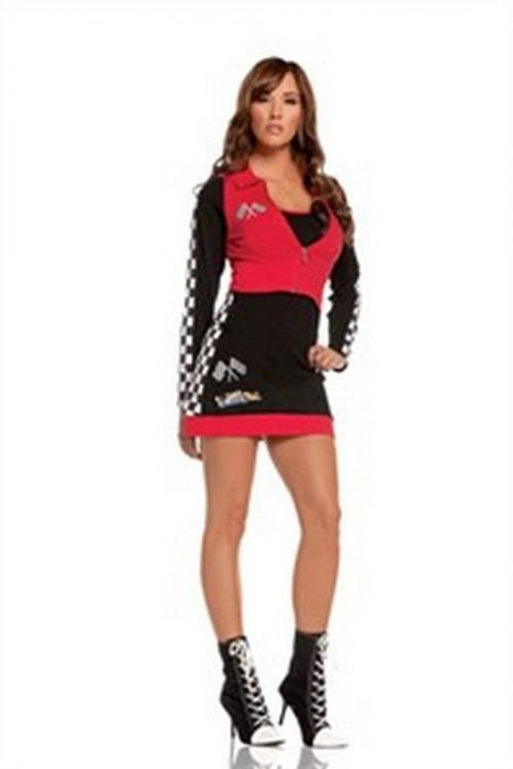 High Speed Hottie Sexy Race Car Driver Costume