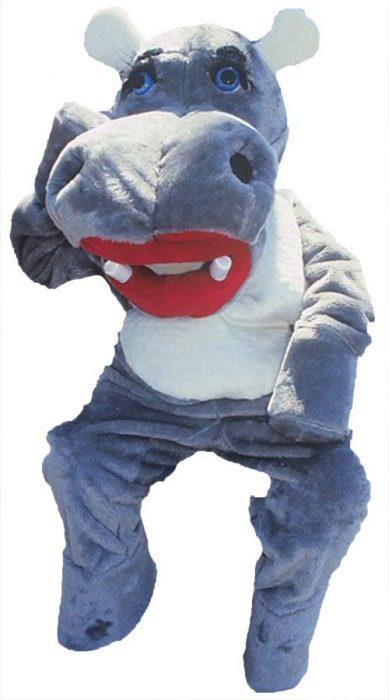 Hillary Hippo Mascot Costume