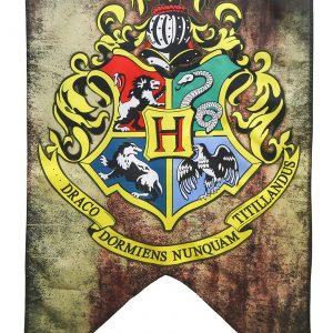 "Hogwarts School Crest Harry Potter 30""x50"" Banner"