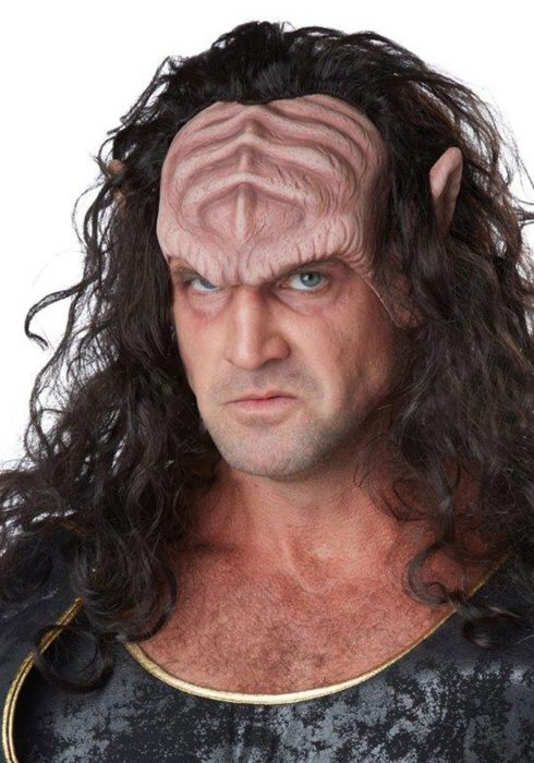 Honorable Deep Space Warlord Mask/Wig Combo