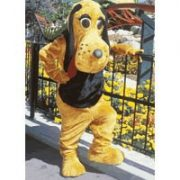 Hound Dog Mascot Costume