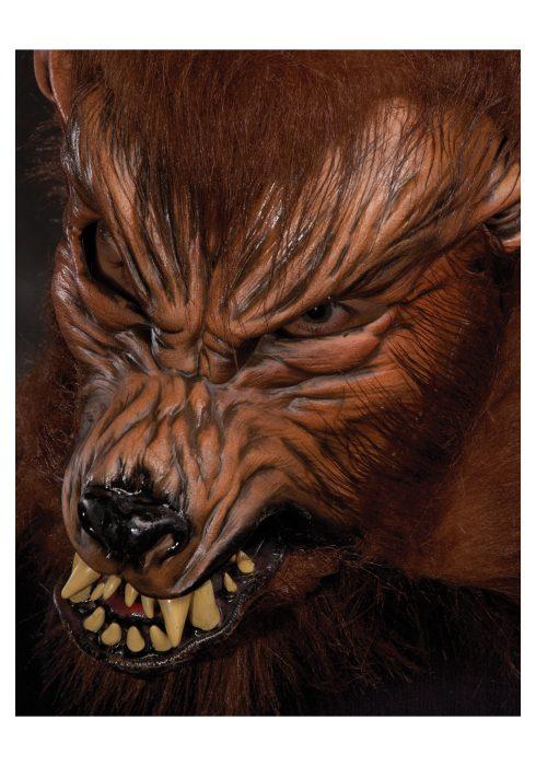 Howl O Ween Werewolf Mask