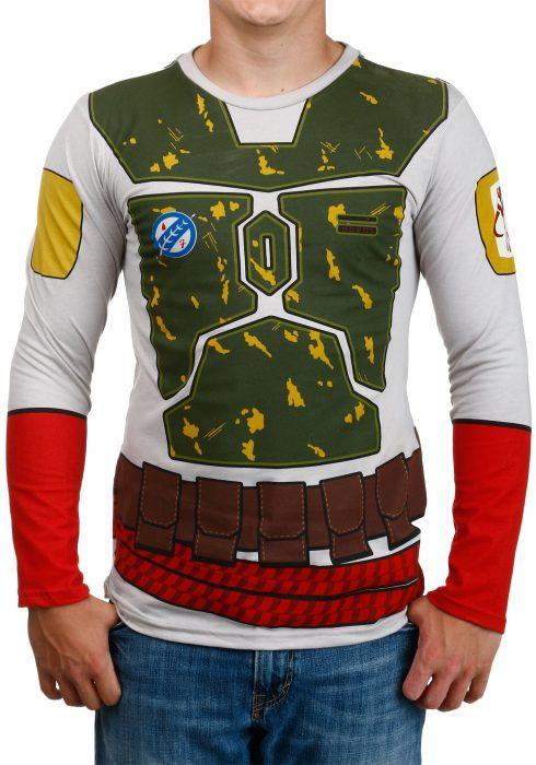 I Am Boba Fett Long Sleeve Costume Shirt